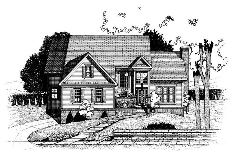 Main image for house plan # 6337