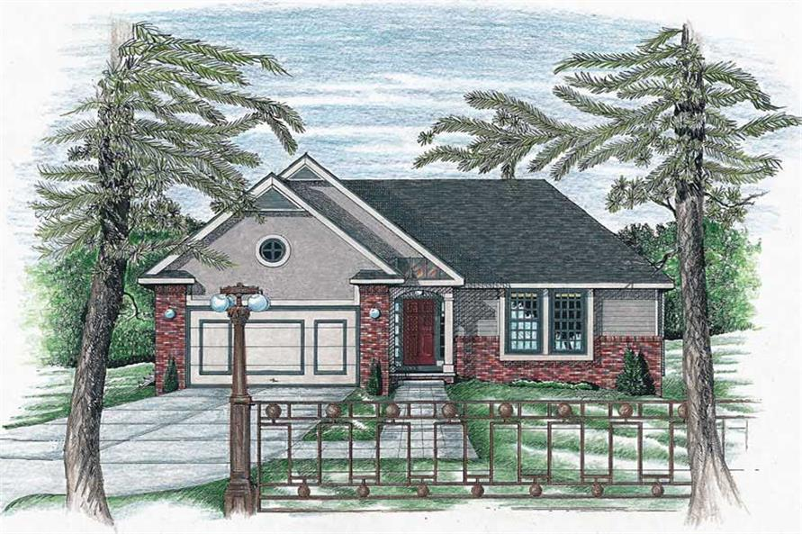 Main image for house plan # 6316