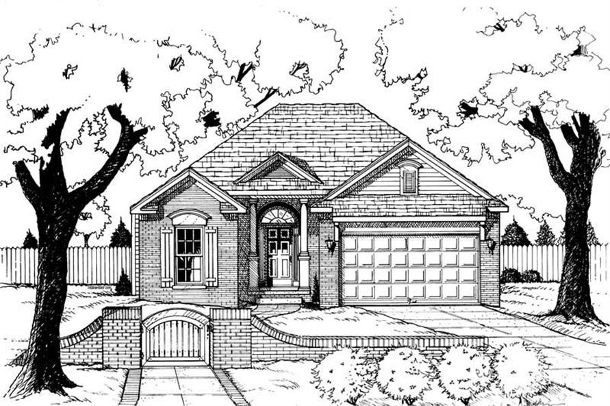 Main image for house plan # 6287