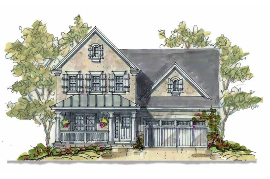 120-1669: Home Plan Rendering