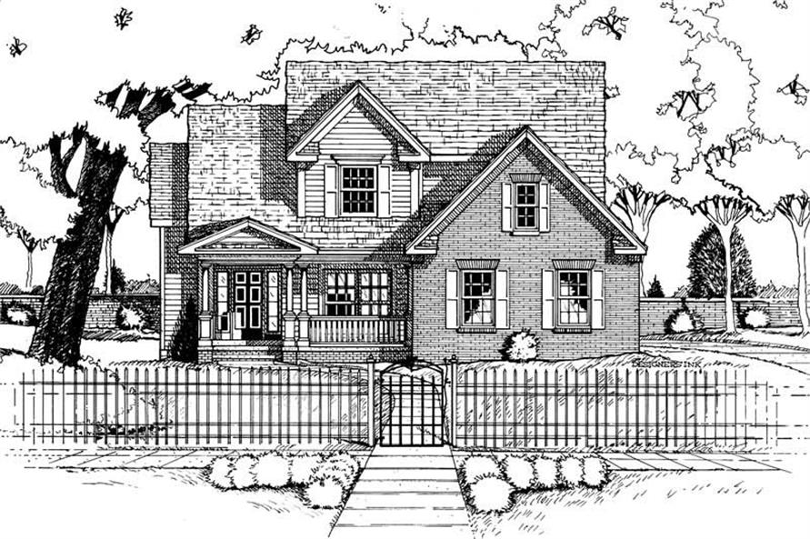 Main image for house plan # 6267