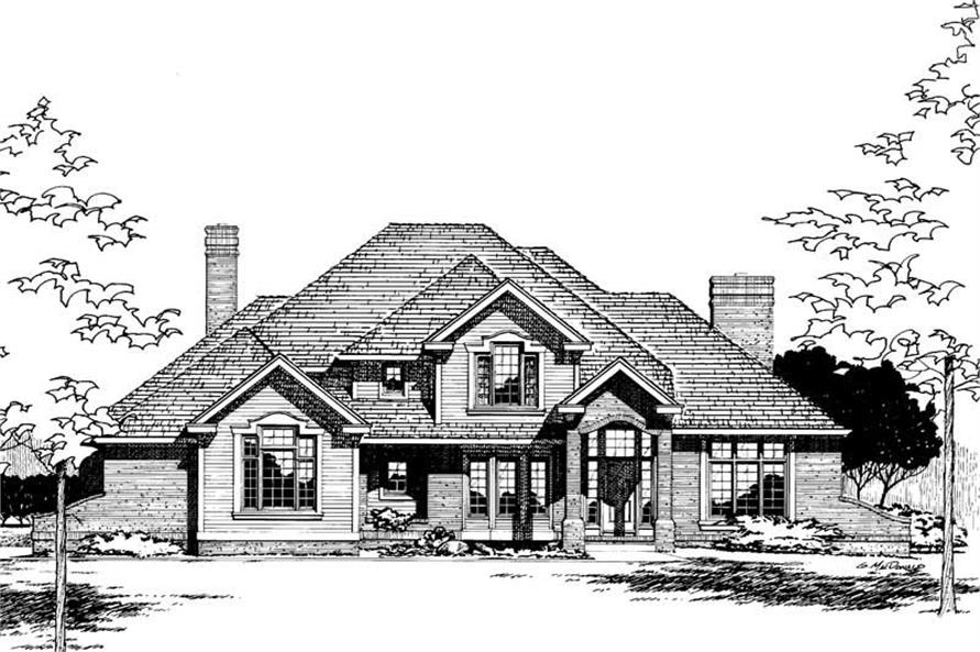 Main image for house plan # 5300