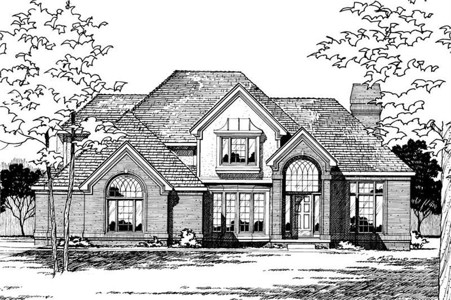 Main image for house plan # 5251