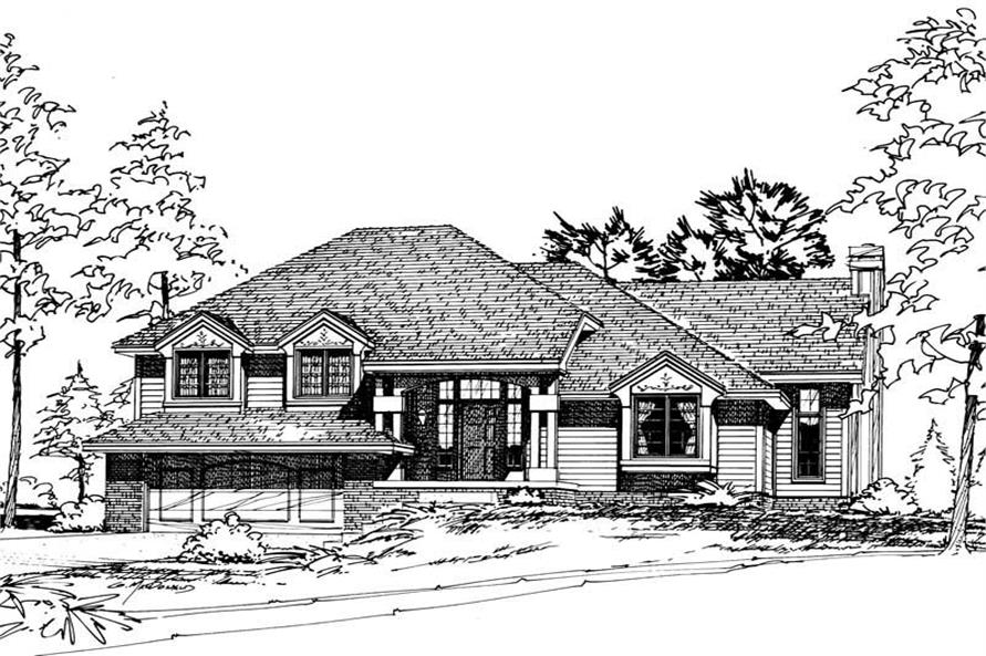 Main image for house plan # 5162