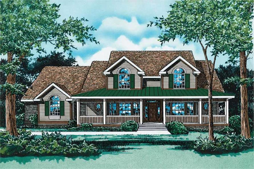 Main image for house plan # 5471