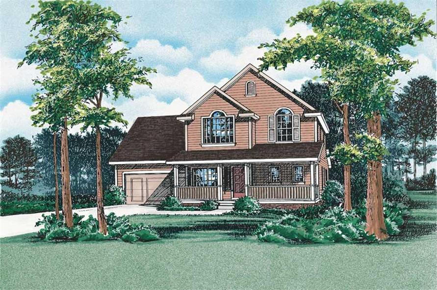 Main image for house plan # 5485