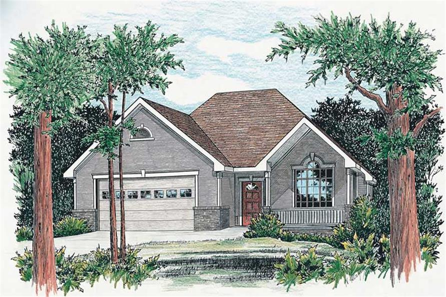 Main image for house plan # 5478