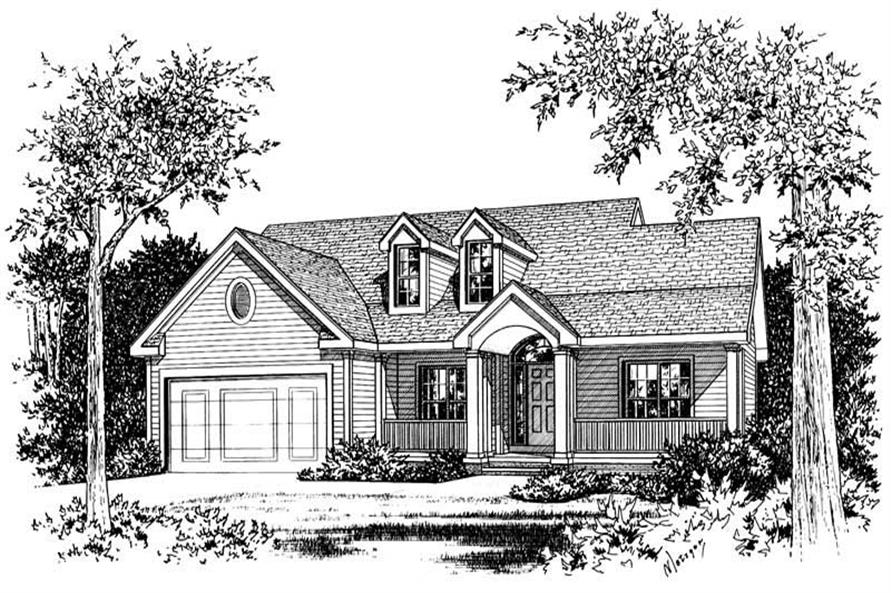 Main image for house plan # 5470