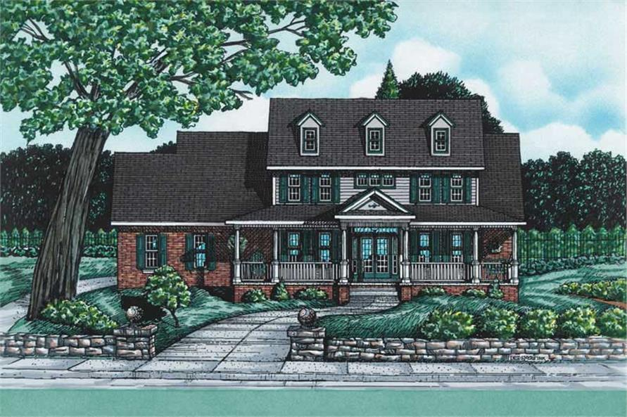 Main image for house plan # 5465
