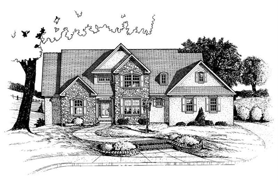 Main image for house plan # 5458