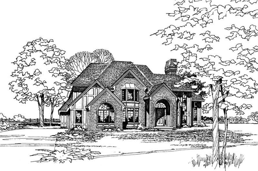 Main image for house plan # 5173