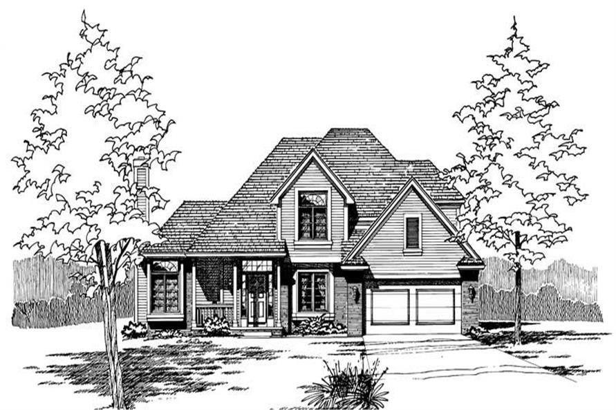 Main image for house plan # 5280
