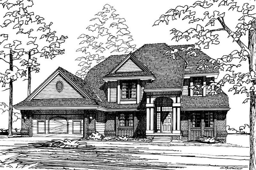 Main image for house plan # 5139