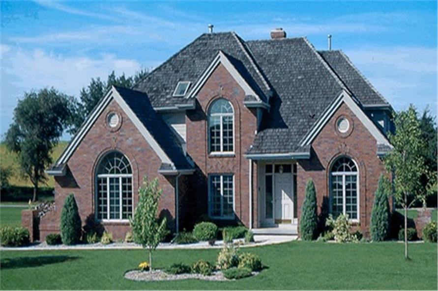 Main image for house plan # 5164