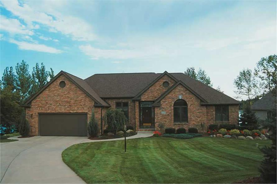 Main image for house plan # 5182