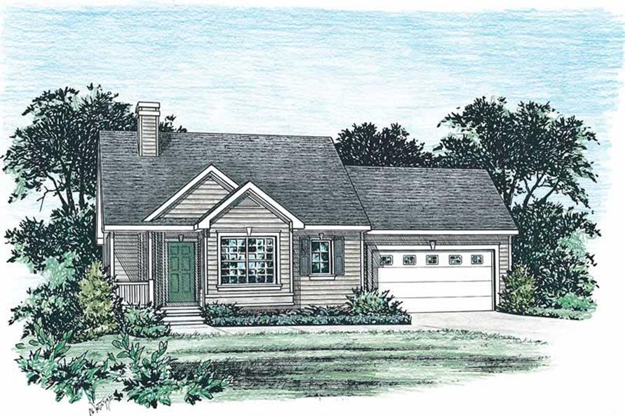 Main image for house plan # 5517