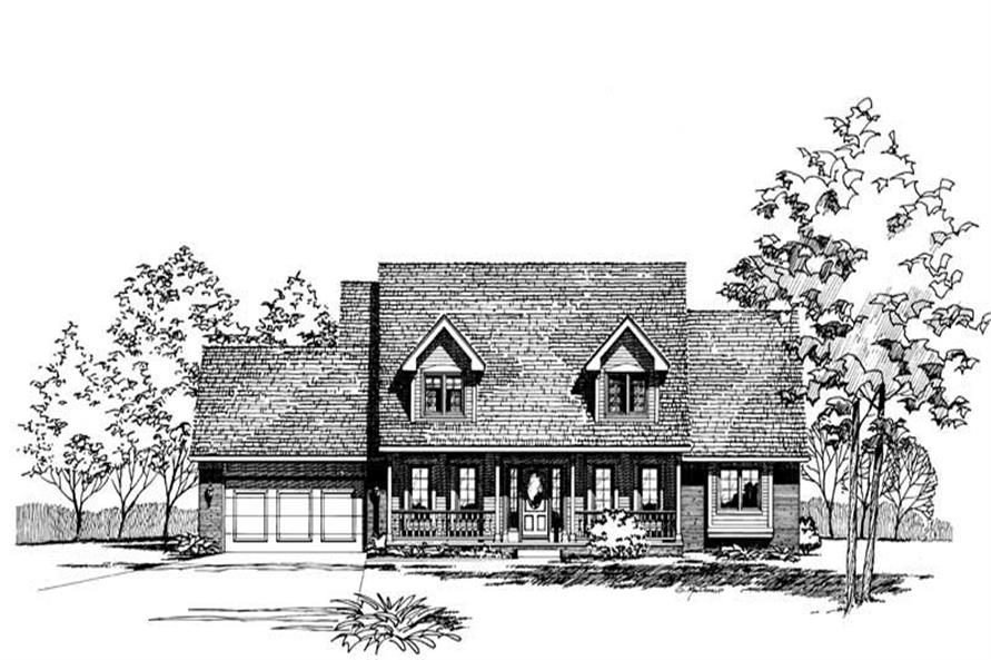 Main image for house plan # 5269