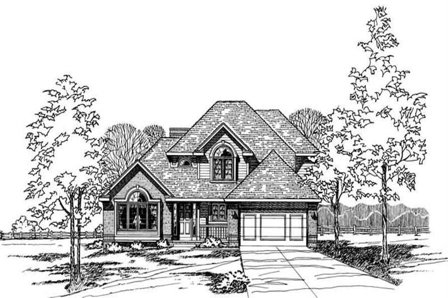 Main image for house plan # 5268