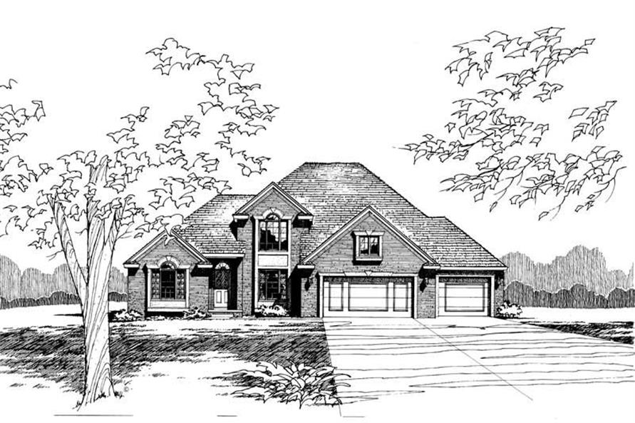 Main image for house plan # 5243