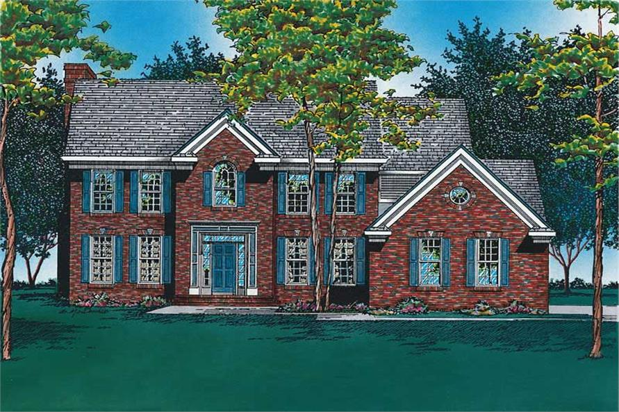 Main image for house plan # 6106