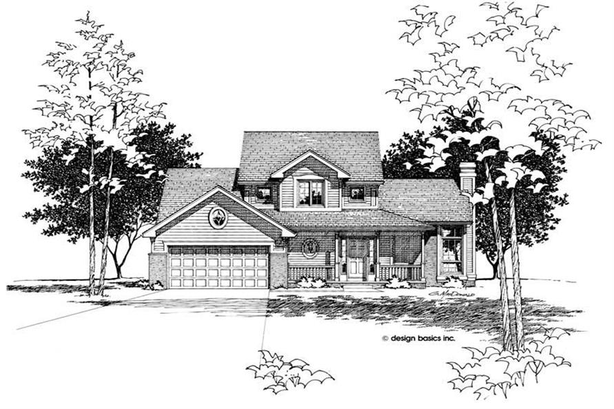 Main image for house plan # 6095
