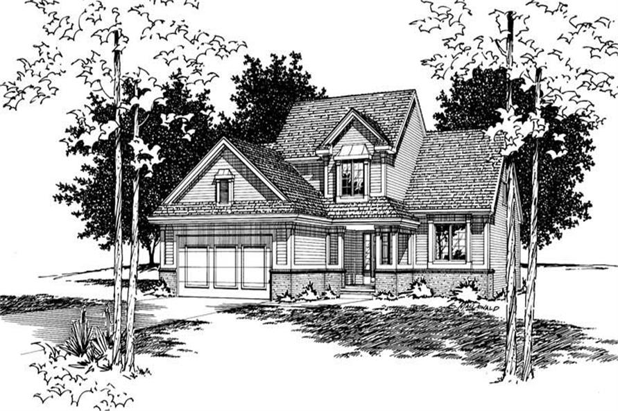 Main image for house plan # 6083