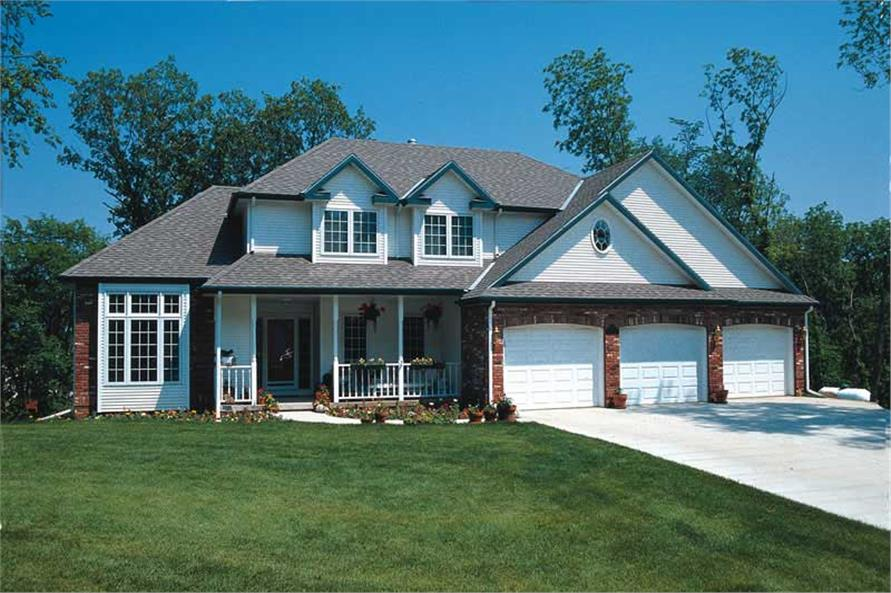 Main image for house plan # 6080
