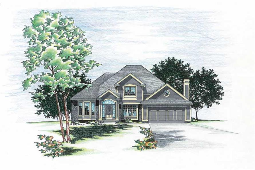 Main image for house plan # 6073