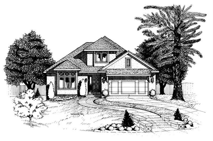 Main image for house plan # 6292