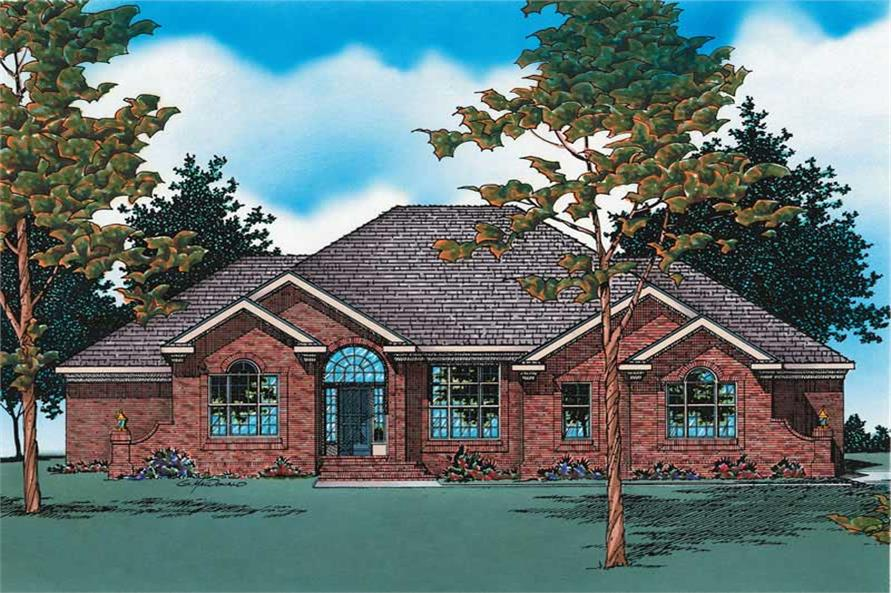 Main image for house plan # 6144
