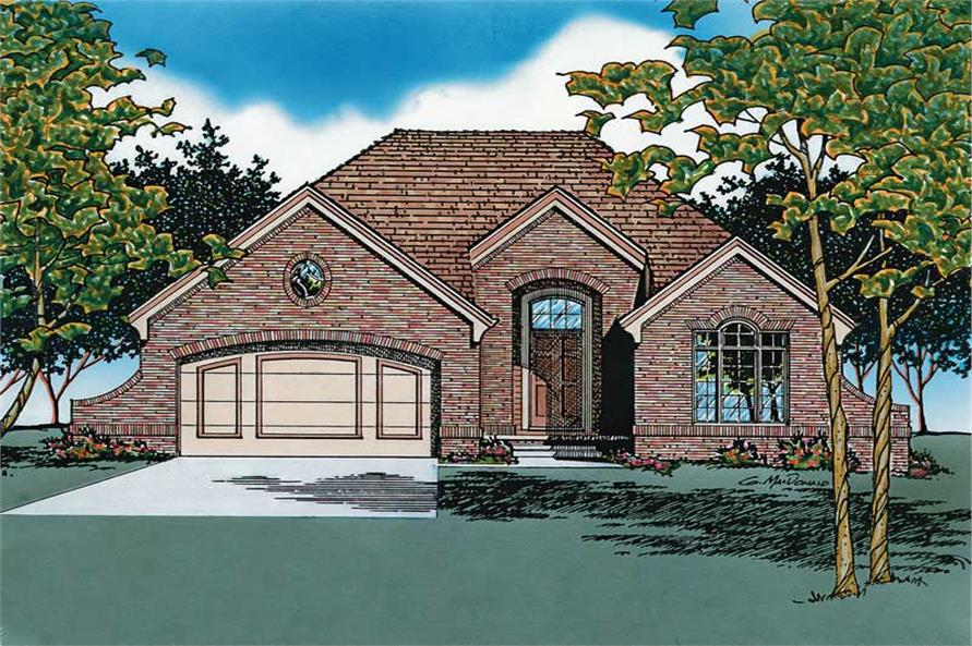 Main image for house plan # 6114