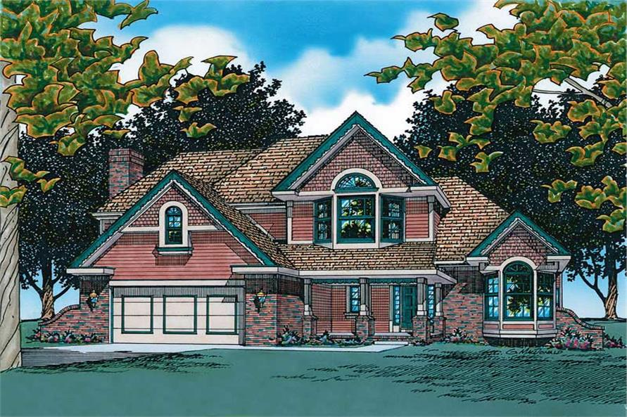 Main image for house plan # 6138