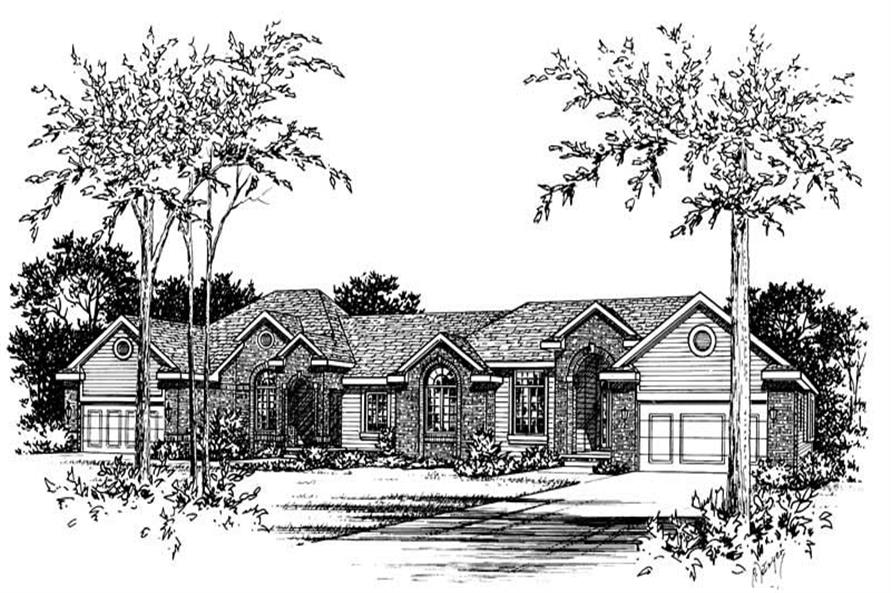 Main image for house plan # 5607