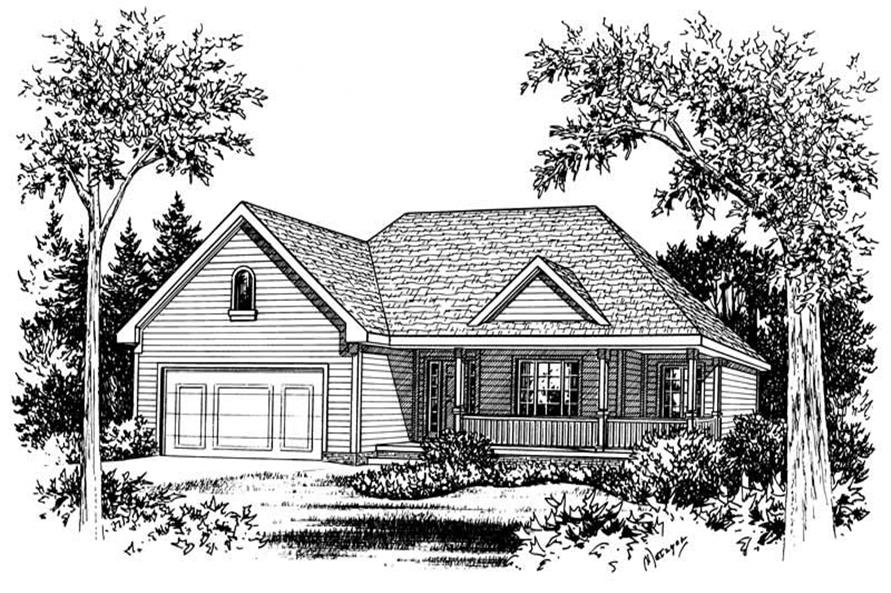 Main image for house plan # 5564