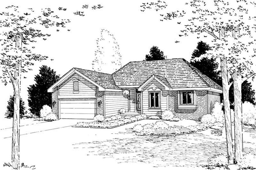 Main image for house plan # 5616