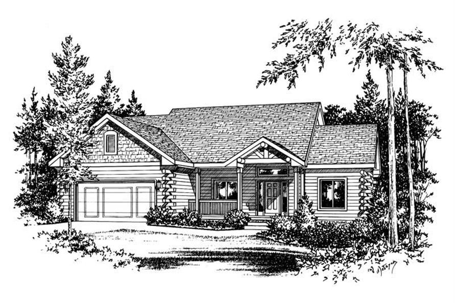 Main image for house plan # 5558