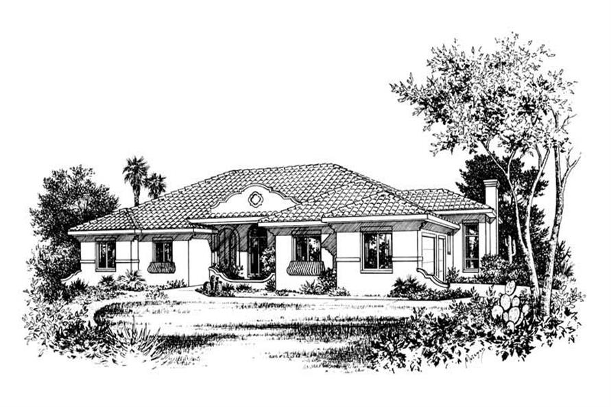 Main image for house plan # 5548