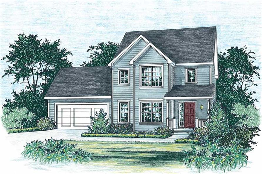 Main image for house plan # 5547