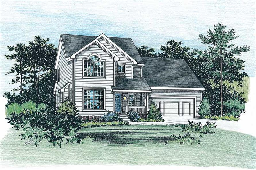 Main image for house plan # 5520