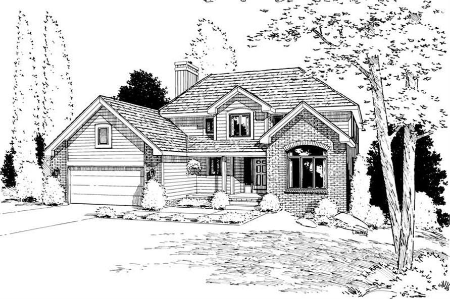 Main image for house plan # 5634