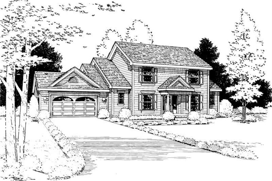 Main image for house plan # 5633