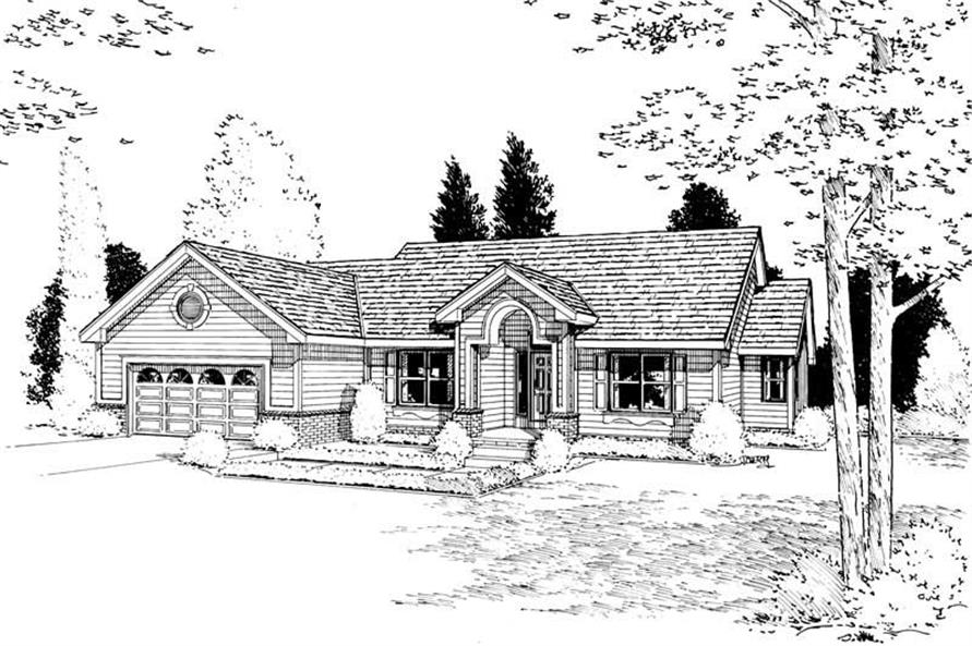 Main image for house plan # 5618