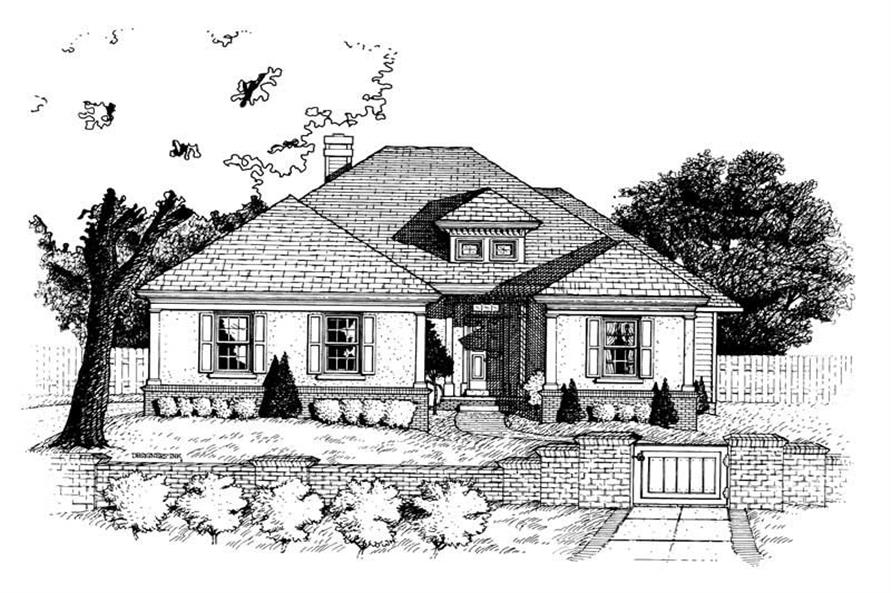 Main image for house plan # 6297