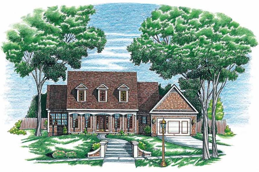 Main image for house plan # 6291