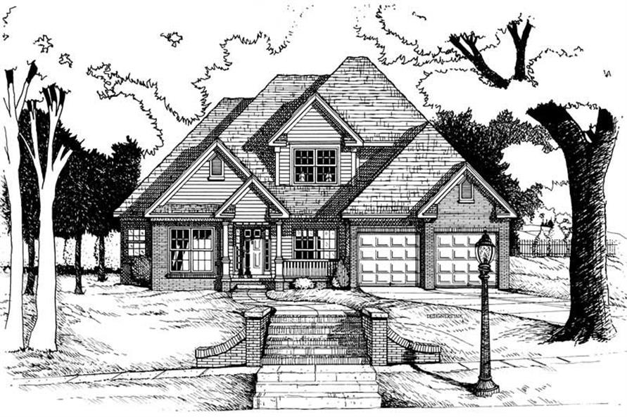 Main image for house plan # 6282