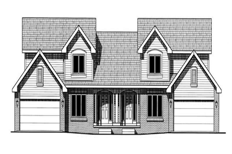 Main image for house plan # 6234