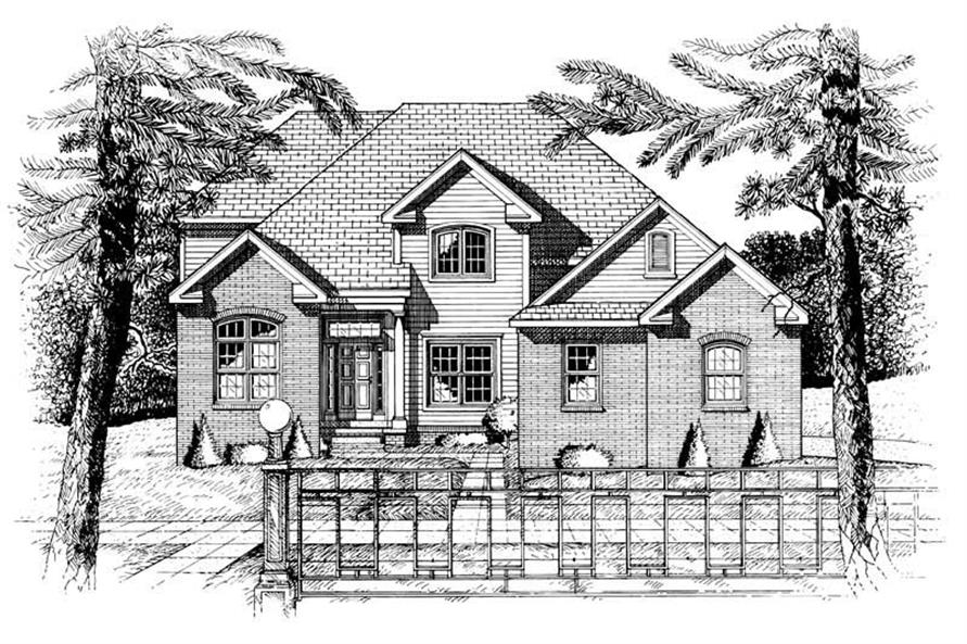 Main image for house plan # 6341