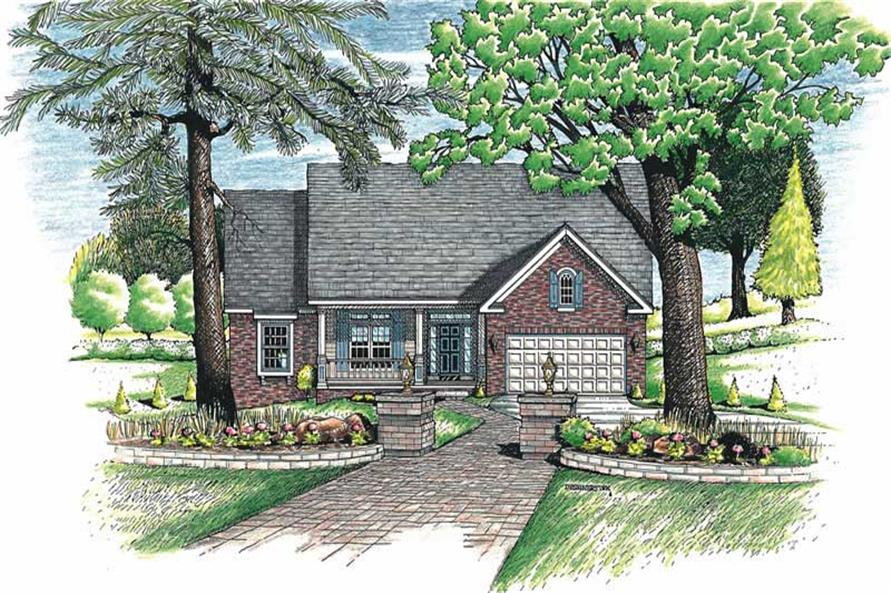 Main image for house plan # 6239