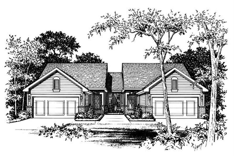 Main image for house plan # 6215