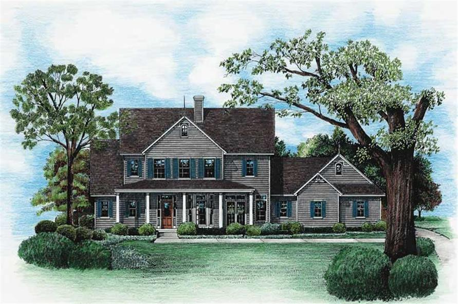 Main image for house plan # 6474